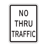 HR10-9 No Thru Traffic