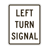 R10-10 Left (Right) Turn Signal