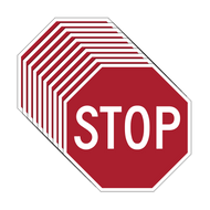 R1-1 STOP Signs - Box of 10