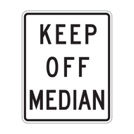 R11-1 Keep Off Median