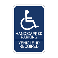 HR7-15 Handicapped Parking Vehicle ID Required