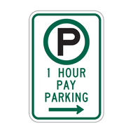 R7-21 Parking Permitted XX Hour(s) Pay Parking