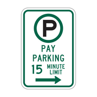 R7-21a Parking Permitted Pay Parking XX Minute Limit