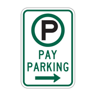 R7-22 Parking Permitted Pay Parking
