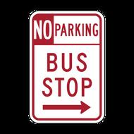 R7-107 No Parking Bus Stop