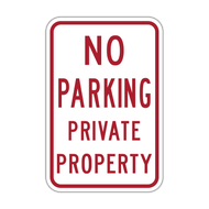 HR7-119 No Parking Private Property