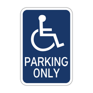 HR7-128 Handicapped Parking Only