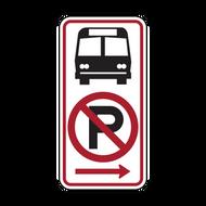 R7-107a No Parking Bus Stop
