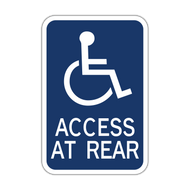 HR7-129 Handicapped Access at Rear