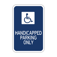 HR7-131 Handicapped Parking Only