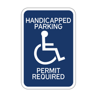 HR7-132 Handicapped Parking Permit Required