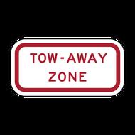 R7-201aP Tow-Away Zone