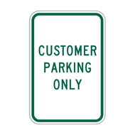 CPO Customer Parking Only