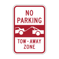 NPT No Parking Tow-Away Zone