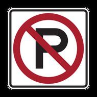 R8-3 No Parking