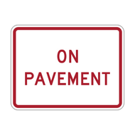 R8-3cP On Pavement
