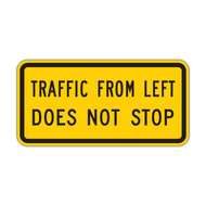 W4-4aP Traffic From Left (Right) Does Not Stop