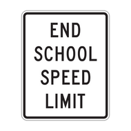 S5-3 End School Speed Limit