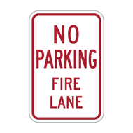 HR8-31 No Parking Fire Lane