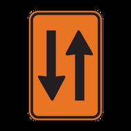 W6-4 Two-Way Traffic
