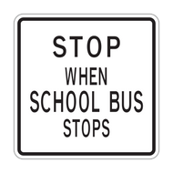HR5-11 Stop When School Bus Stops