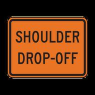 W8-17P Shoulder Drop-Off (Construction)