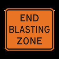 W22-3 End Blasting Zone