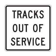 R8-9 Tracks Out of Service