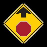 W3-1 Stop Ahead