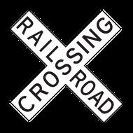 R15-1 Grade Crossing (Crossbuck)