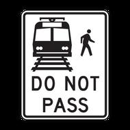 R15-5 Light Rail Do Not Pass