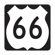 M1-4 U.S. Route Sign (1 or 2 digits)