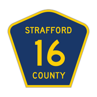 M1-6 County Route Sign