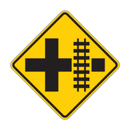 W10-2 Railroad Advance Warning