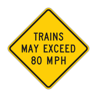 W10-8 Trains May Exceed 80 MPH