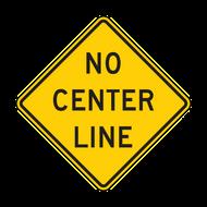 W8-12 No Center Line