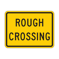 W10-15P Rough Crossing