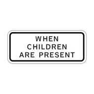 S4-2P When Children Are Present