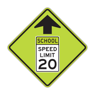 S4-5 Reduced School Speed Limit Ahead