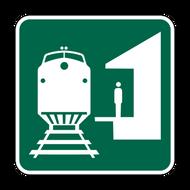 "12"" I-7 Train Station"