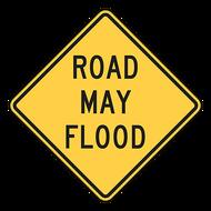 W8-18 Road May Flood