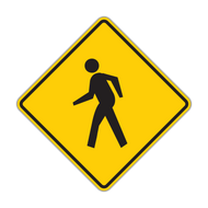 W11-2 Pedestrian Crossing