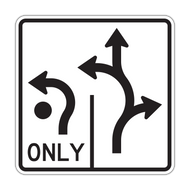 R3-8 Advance Circular Intersection Lane Control