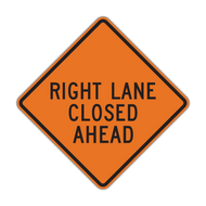 W20-5 Lane Closed