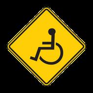 W11-9 Handicapped