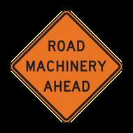 W21-3 Road Machinery Ahead