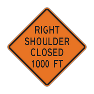 W21-5b Shoulder Closed