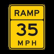 W13-3 Ramp XX MPH