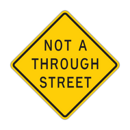 NTS Not a Through Street