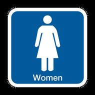 B Women's Restroom